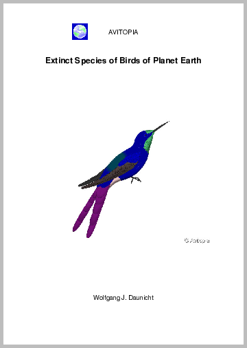 Extinct Species of Birds of Planet Earth - Click Image to Close